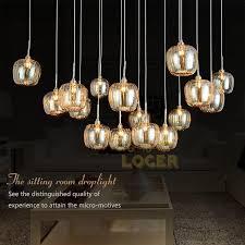 minimalist living room lamp glass apples jane europe ikea creative lighting square pendant lamp study