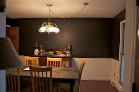 Dining Room Progress Living Quarters On A Dime - Dining room color ideas with chair rail