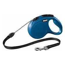 <b>Рулетка FLEXI New CLASSIC</b> трос S, 8 м, 12кг, синий — купить в ...