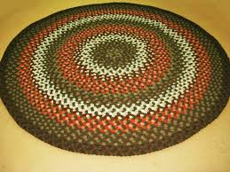 handmade braided rugs by marge alberta a 7 round braided rug