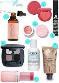 kiehl s makeup remover 7 tarte tinted moisturizer 8 josie maran blush stick