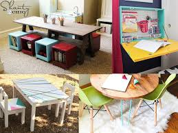 24 diy kids table and chair ideas you