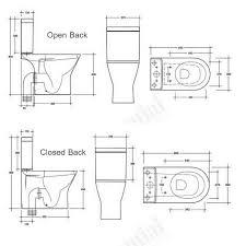 toilet dimensions comfort height toilet97