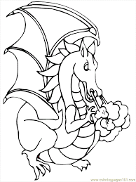 Small Picture Dragon Cartoon 33 Coloring Page Free Dragon Ball Z Coloring