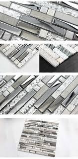 Kitchen Backsplash Tile Lowes Aliexpresscom Buy Crystal Mosaic Tile Mirror Sheets Deco Mesh