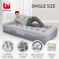 mattresses for sale. bestway single inflatable flocked mattress built-in pillow \u0026amp; mattresses for sale