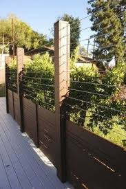 modern cable fence. Brilliant Fence Wire FencesCable Fencing  Traditional Spaces Los Angeles Harwell  And Gates Inc On Modern Cable Fence