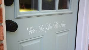 how to paint and stencil a door after stenciled door