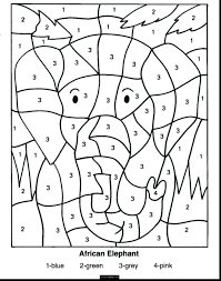 All coloring pages in printable pdf format. Amazing Color By Number Math Worksheets 7th Grade Jaimie Bleck