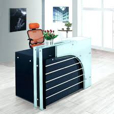 office counter desk. Office Reception Desk Surprising Furniture Counter Design Glass Top Intended For Medical
