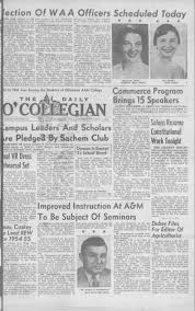 Daily O'Collegian, 1954-04-07 - The Daily O'Collegian 1940 - Digital  Collections - Oklahoma State University