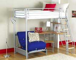 metal loft bed with desk bedroompopular metal loft with desk home adorable underneath and futon chair assembly instructions metal loft bed desk