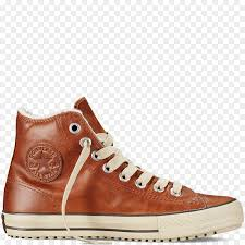 chuck taylor allstars converse shoe brown leather png