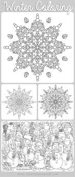These themes may include alphabet printable activities and patterns. Free Printable Winter Coloring Pages For Adults Moms And Crafters