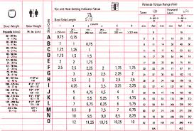 Rossignol Din Setting Chart Marker Din Chart And Instructions