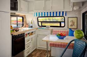 Awesome Vintage Campers And Camper Van Decor For Your Next Road Trip Classy Van Interior Design Interior