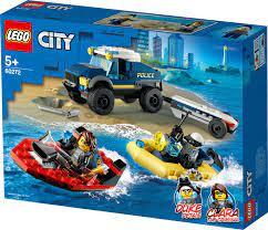 לגו סיטי - הובלת סירות משטרה 60272 - CITY