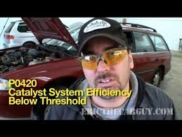 p0420 how to diagnose a bad catalytic converter ericthecarguy p0420 how to diagnose a bad catalytic converter ericthecarguy
