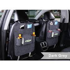 car seat back multi pocket storage bag organizer holder accessory