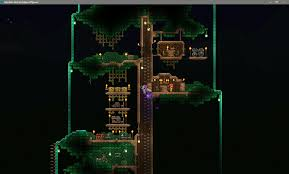 First Post On Reddit My Attempt At A Tree House Terraria