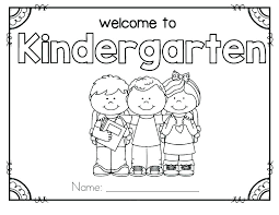 Kindergarten Coloring Sheets Pdf First Day Of School Coloring Pages
