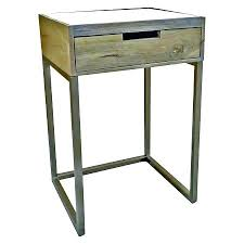 small corner accent table with drawer marble gold one target oak
