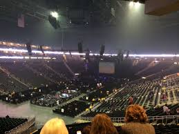 Sprint Center Seating Chart Rows Sprint Center Section 120 Concert Seating Rateyourseats Com