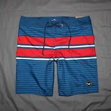 Hollister Bottoms Size Chart Details About Hollister Men Classic Board Swim Shorts Size 32 36 New With Tags