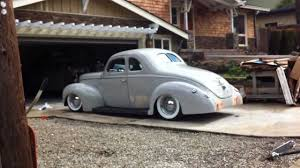 Air Bagged 1940 Ford - YouTube