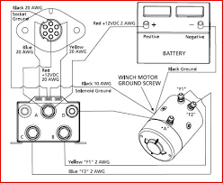winches rebuilding, parts information, diagrams, testing sites Electric Winch Wiring Diagram superwinch wiring outside to remote plug