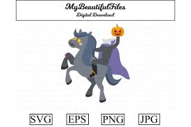 Common use cases for animating svg with css. Halloween Headless Horseman Graphic By Mybeautifulfiles Creative Fabrica