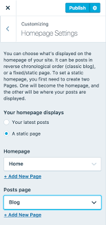 Pages — Support — WordPress.com