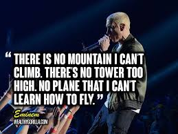Good Song Lyrics Quotes Extraordinary 48 Greatest Eminem Quotes Lyrics Of All Time Wealthy Gorilla