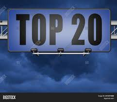 20 Chart Music Top 20 Charts List Pop Image Photo Free Trial Bigstock