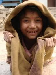 nepálské děvčátko