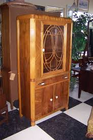Art Deco Kitchen Cabinets Classic Art Deco Kitchen Cabinets With Framed Glass Door