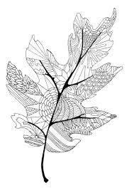 Letter L Is For Leaf Coloring Page Printable Pages Click The Four