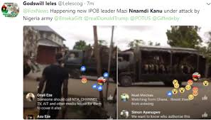 Image result for nigeria army attcaks nnamdi kanu home