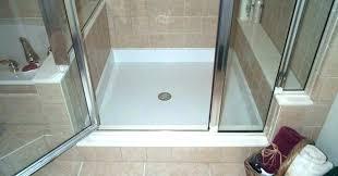 shower base kits foam pans large size of pan picture design tile ready installation foam shower pans