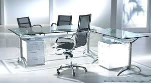 office desk glass. Glass Office Desk Frosted Tempting Modern Plus Furniture Study I
