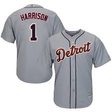 Majestic Replica Jersey Size Chart Majestic Replica Josh Harrison Youth Grey Mlb Jersey 1