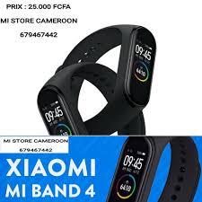 <b>Bracelet</b> connecté, <b>XIAOMI</b> MI BAND 4.... - Mi Store Cameroon ...