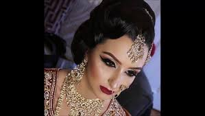 real bride asian bridal makeup traditional signature look video dailymotion