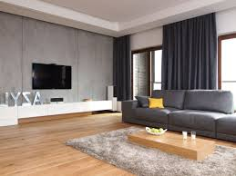 Simple And Catchy Wall Mounted Tv Idea For Simple Living Room