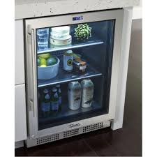 small undercounter refrigerator. Simple Undercounter Modern Small Space Kitchen With True Under Cabinet Refrigerator 1 Glass  Door And White Painted Wooden With Undercounter N