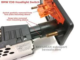 bmw e light switch wiring diagram wiring schematics and diagrams bmw e30 headlight switch removal diy 325i and others bavarian bmw e36 ignition switch wiring diagram diagrams