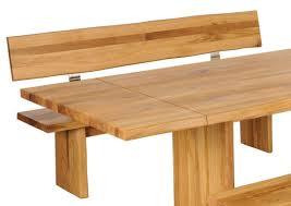 Esstisch Bank Mit Lehne Holz