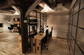 modern rustic office. Crafty Inspiration Rustic Modern Office Lovely Ideas Nice