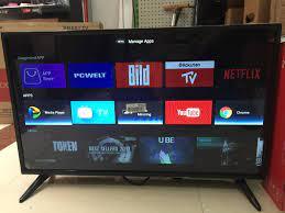 Wifi akıllı Android 7.1.1 televizyon 32 inç led tv Smart TV