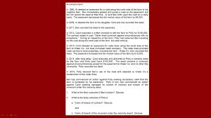 Bar Exam Essays Debrief Of The Essays From The July 2016 California Bar Exam Q2 Real Property
